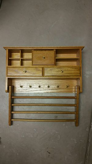 Vintage jewelry wood wall shelves for Sale in Commerce City, CO