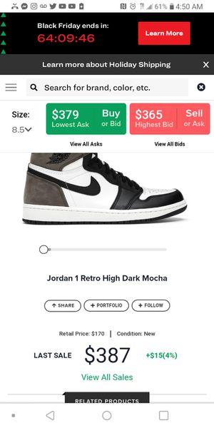 Mocha Jordan ones size 8.5 men for Sale in Los Angeles, CA