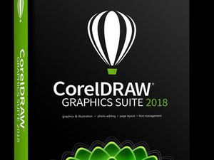 Corell Draw 2018 With Full Suite and Serial Disk or USB for Sale in Glendale, AZ