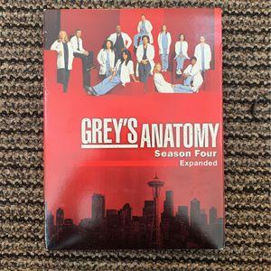 Greys anatomy Season 4 Dvd Must Go By 1/28 for Sale in Phoenix, AZ