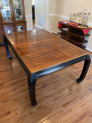 Dining Table with Chairs and China for Sale in New Market, MD