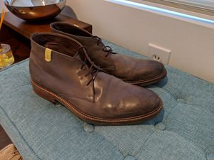 Grey leather boots / shoes. High quality european shoes. for Sale in Dallas, TX