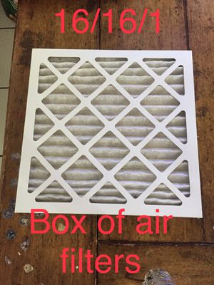 Box of air filters for Sale in Ontario, CA