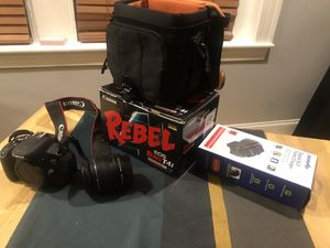 Canon EOS Rebel T4i Digital Camera with EF-S 18-55mm f/3.5-5.6 IS II Lens for Sale in Washington, DC