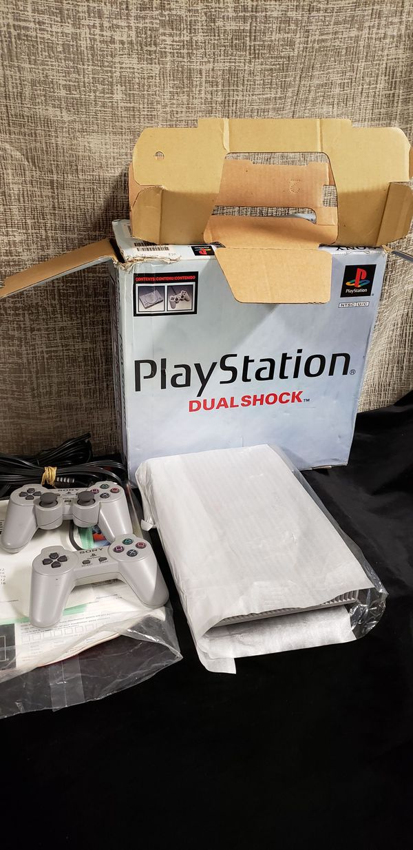 Sony Playstation PS1 Console in Box