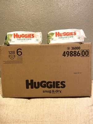Huggies Size 6/wipes 📍NO DELIVERY📍READ DESCRIPTION FOR LOCATION📍 for Sale in Norwalk, CA