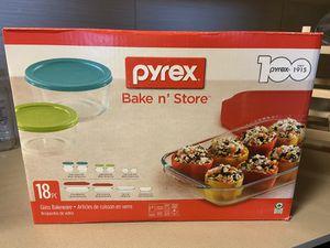 Unopened Pyrex 18-pc for Sale in Phoenix, AZ