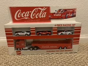 1979 Coca-Cola 4 Piece Racing Set #3600C, Hartoy, Inc., New in Box for Sale in Carson, CA