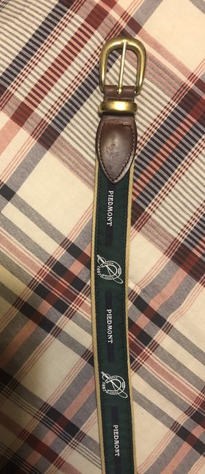 Piedmont Driving Club men's golf belt size 36 for Sale in Dallas, TX