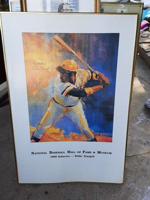 Baseball poster for Sale in Huntingdon Valley, PA