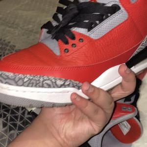 Jordan 3 Fire Red for Sale in Hartford, CT