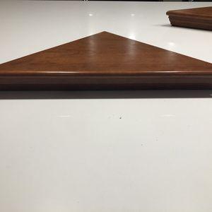 4 Cherry wood corner shelves for Sale in Lincoln, RI