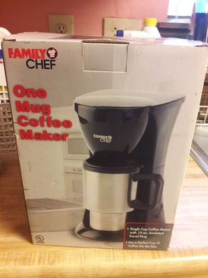 FAMILY CHEF , 1 CUP COFFEE MAKER for Sale in Humble, TX