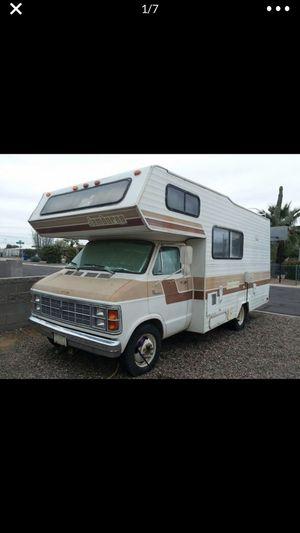 1979 jamboree Fleetwood motorhome.. (desirable 440 ci motor 33k original miles) for Sale in Fort McDowell, AZ
