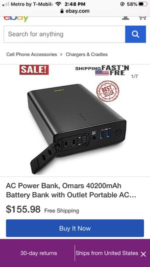 omars 40200mah battery bank for Sale in Los Angeles, CA