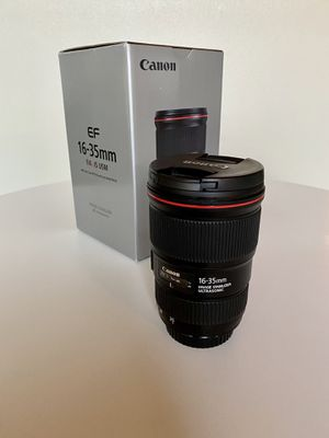 Canon EF 16-35mm f/4 L IS USM for Sale in Portland, OR