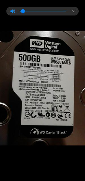WD y seagate 500 gb.driver . for Sale in Miami, FL