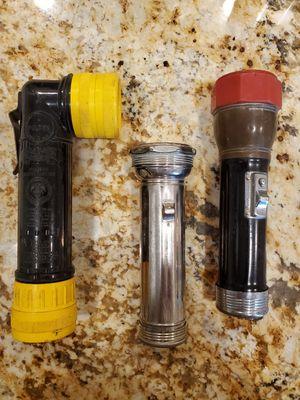 3 Vintage Flashlites for Sale in Gilbert, AZ