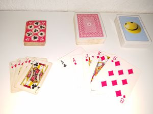 3 SET PLAY CARDS, 1 BRAND NEW, 1 SMALL FOR TRAVELLING for Sale in HALNDLE BCH, FL