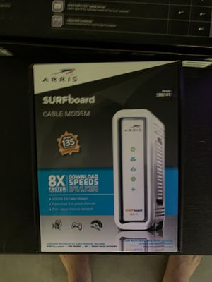 Linksys AC 1200+ router and Surfboard model SB6141 for Sale in Scottsdale, AZ