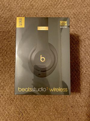 Beats by Dr. Dre - Beats Studio3 Wireless Noise Canceling Headphones - Skyline Collection - Shadow Gray for Sale in San Diego, CA