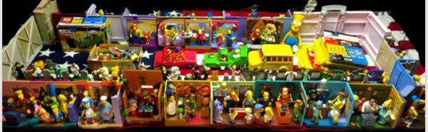 Simpsons world of Springfield interactive environments and figure lot and more toys collectibles