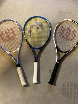 3 Tennis Rackets (used) for Sale in Olympia,  WA