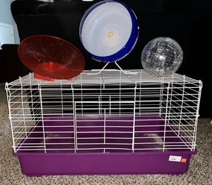 Large animal cage with accessories for Sale in Clarksville, TN