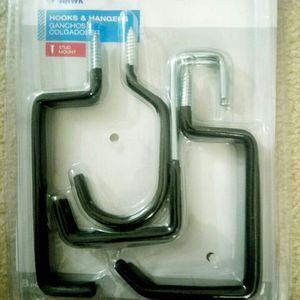 Blue Hawk7-Pack Black Steel Multipurpose Hook for Sale in Rockville, MD
