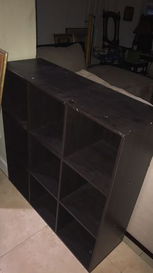 3by 3 cubby shelving for Sale in Oakland Park, FL