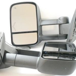 07-13 Chevy silverado Sierra Black LED Turn Signal Towing Mirrors for Sale in Chino, CA