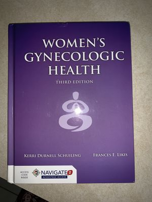 BRAND NEW Women's Gynecologic Health 3rd Edition/Hardcover Book for Sale in Houston, TX
