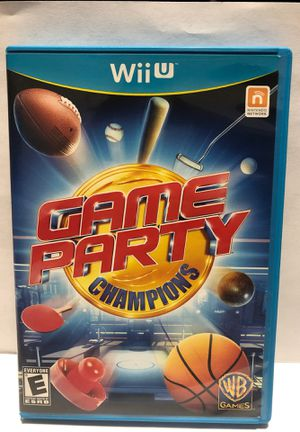 Nintendo Wii U Game Party Champions for Sale in Chicago, IL