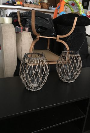 Hanging candle holders for Sale in Columbus, OH