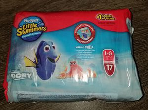 Huggies little swimmers (L) for Sale in Austin, TX