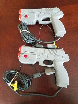 PlayStation 1 or 2 Namco Guns for Sale in Concord, MA