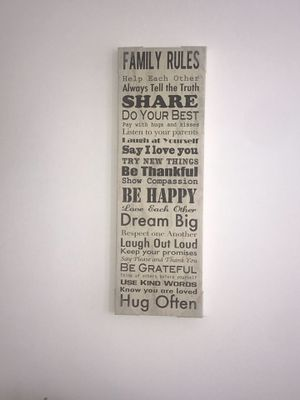 Family Rules! for Sale in Midlothian, VA