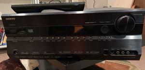 7.1 surround sound receiver with remote control for Sale in Northville, MI