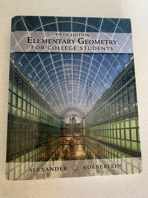 College Geometry Book for Sale in Las Vegas, NV