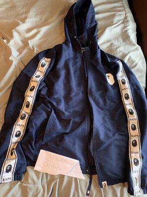 Navy blue Bape jacket for Sale in Lakewood, OH