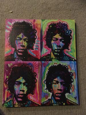 Jimi Hendrix Canvas for Sale in San Antonio, TX
