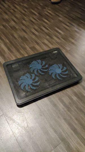 $5 - LED Laptop Cooler - Triple Fan - Glows Blue for Sale in Los Angeles, CA