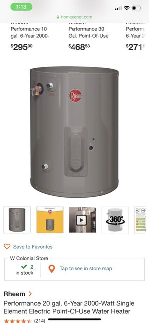 Hot water heater for Sale in Orlando, FL