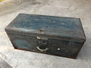 Vintage Ford Snap On Tool Box for Sale in Severn, MD