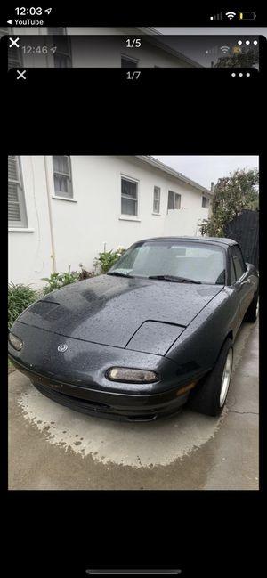 Mazda Miata and atv for trade!!!!! for Sale in Long Beach, CA