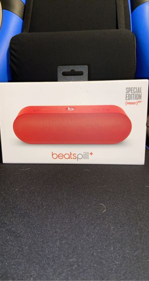 Beats pill+ special edition Red for Sale in Murfreesboro, TN