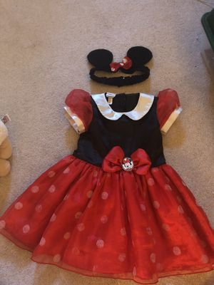 Minnie Mouse costume 12-18mo for Sale in Henderson, NV