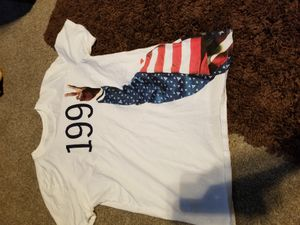 Mens rare 1992 jordan 7s shirt great condition used 1 times for Sale in TX, US