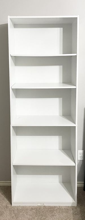 White Bookcase for Sale in Vancouver, WA