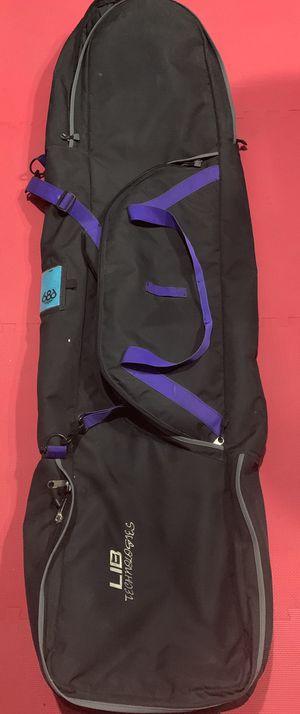 Lib tech Wheeled triple storage snowboard bag (rare bag ) and for Sale in Las Vegas, NV